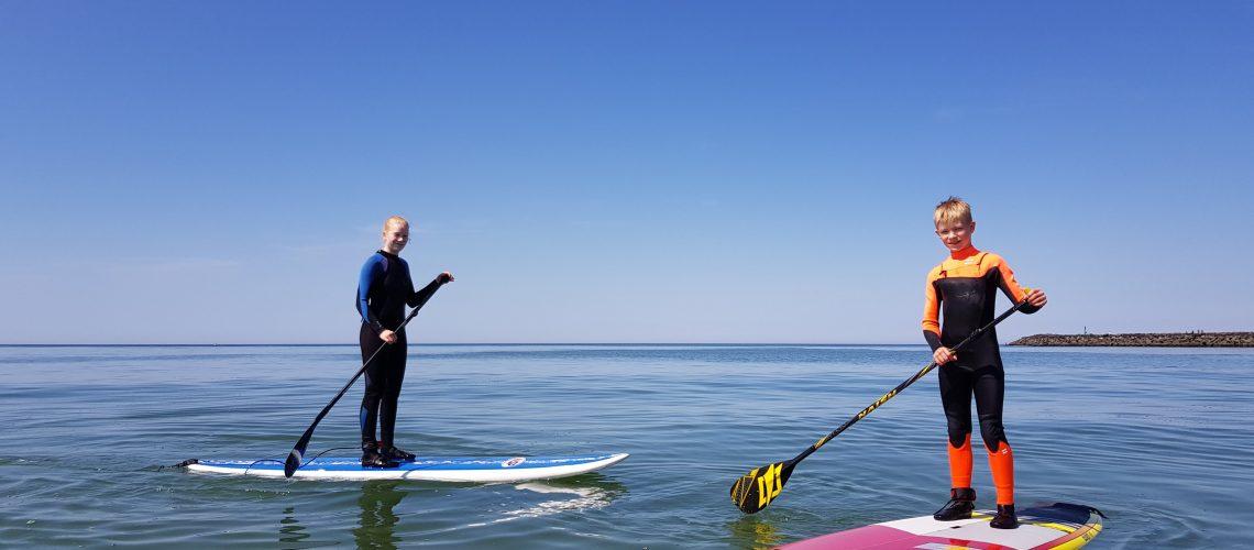 Surfing Hvide Sande